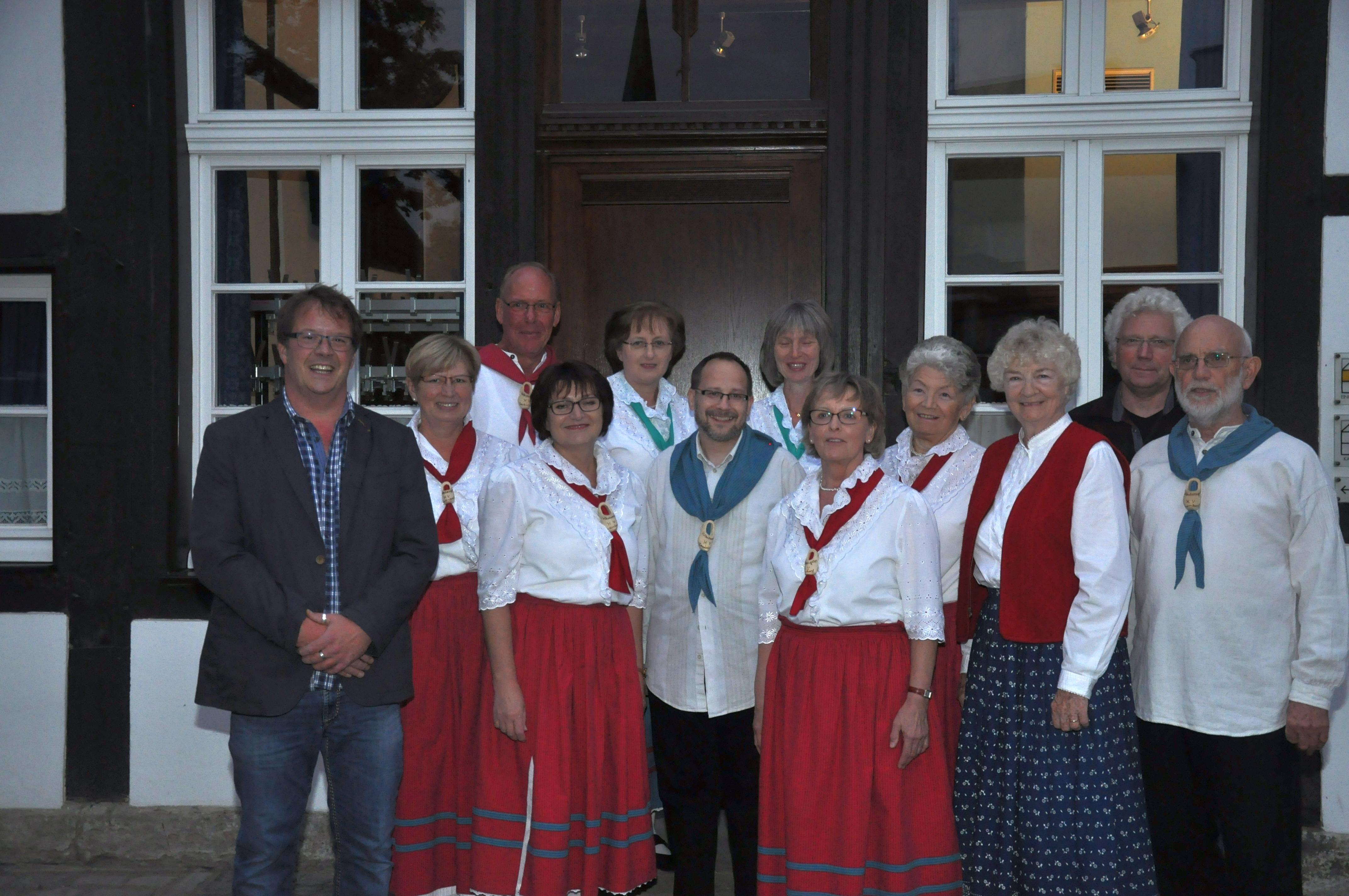 Hedy Hommen aus Chicago zu Besuch beim Heimatverein
